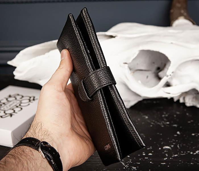 WL335-1 Мужское портмоне клатч из натуральной кожи «Hanz» фото 12