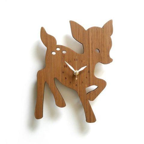 часы олененок Бемби