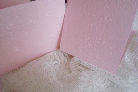 Заготовка для открытки «Узоры» 12х15 см, розовый