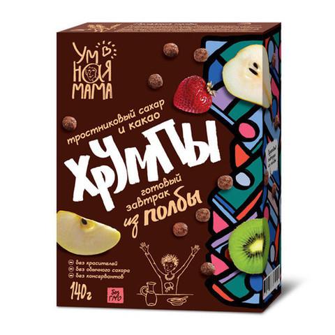 Умная мама хрумпы с какао из полбы 140 г