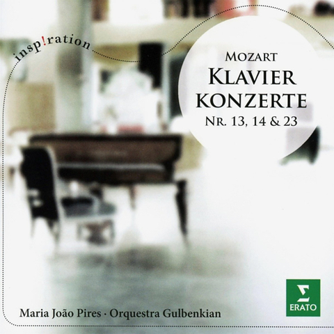 Maria Joao Pires / Mozart: Klavierkonzerte Nr. 13, 14 & 23 (CD)