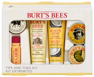 Набор для рук, ног и губ, Burt's Bees