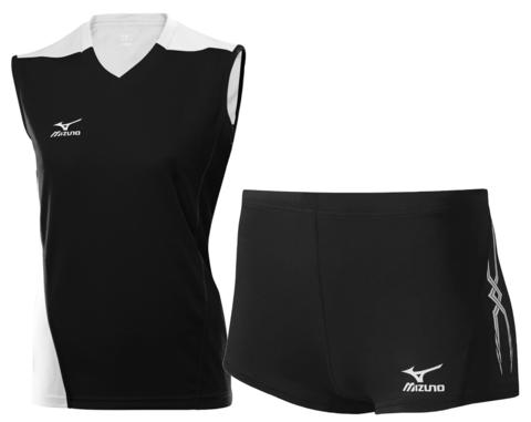 Волейбольная форма Mizuno Premium Trade женская черная