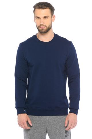 Толстовка мужская темно-синяя