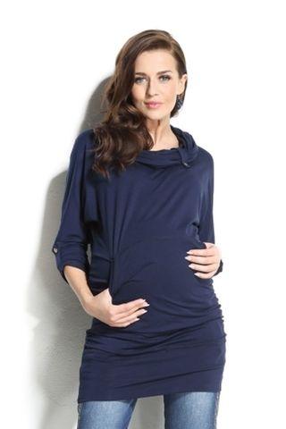 Блузка 01100 синий