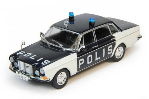 Volvo 164 Sweden Police 1:43 DeAgostini World's Police Car #77