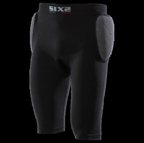Sixs, Защитные шорты с защитой бедра и гибкой ластовицей Kitprosho2, черный