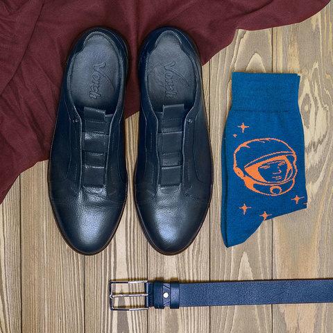 Натуральные кроссовки из натуральной кожи