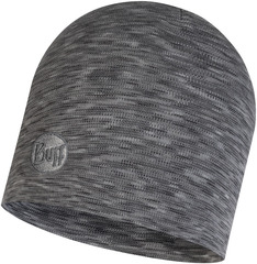 Теплая шерстяная шапка Buff Hat Wool Heavyweight Fog Grey Multi Stripes
