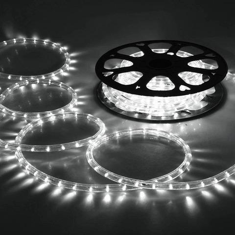 Белый дюралайт 50 метров 2WRL LED светодиодный лэд