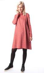 Евромама. Платье трикотажное для беременных и кормящих, коралл