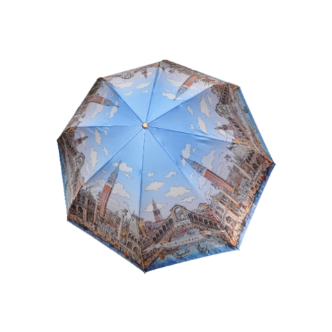 Зонт женский ТРИ СЛОНА 133-H-4
