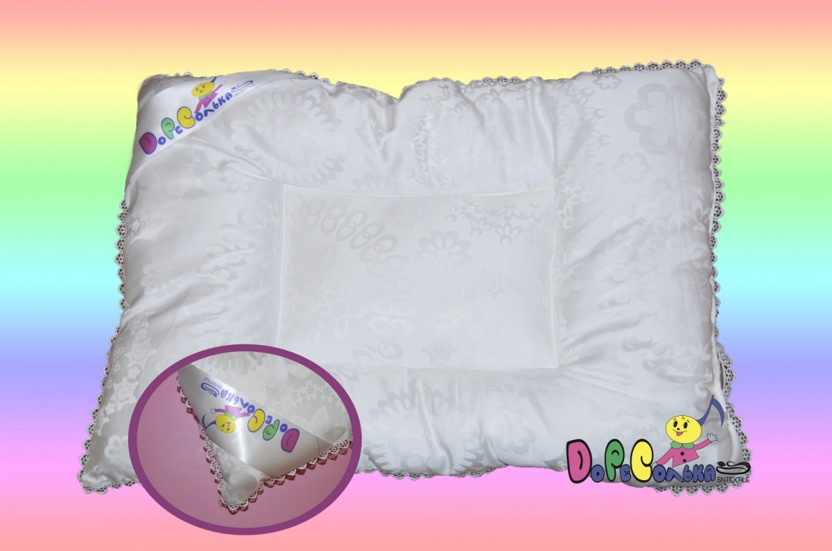 Одеяла и подушки Подушка детская  Кружевное Облачко от 0 до 1 годика 1163_.jpg