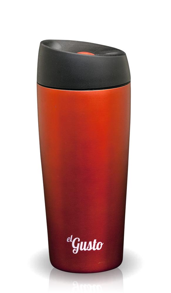 Термокружка El Gusto Grano (0,47 литра) красная