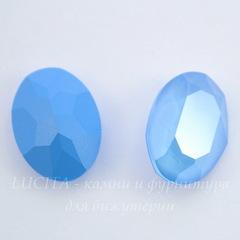 4120 Ювелирные стразы Сваровски Crystal Summer Blue (18х13 мм)