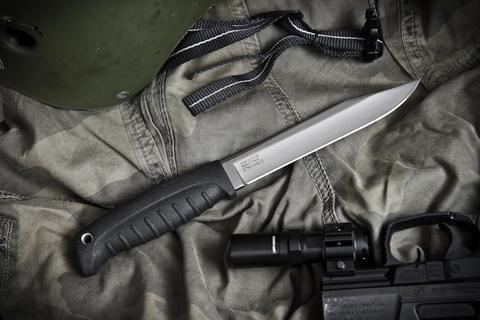 Туристический нож Таран X70CrMo15 Полированный Эластрон