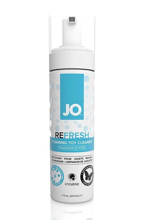 Интимная гигиена: Чистящее средство для игрушек JO Refresh - 207 мл.