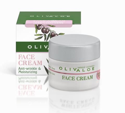 Увлажняющий крем от морщин для сухой и нормальной кожи лица OlivAloe