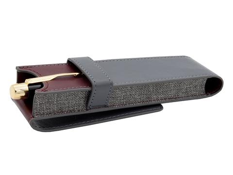 Набор с чехлом: Перьевая и Ручка роллер Parker Sonnet`10 Cisele Decal T535123