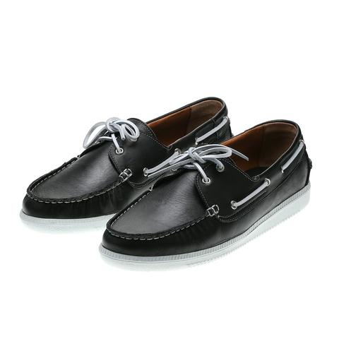 573296 полуботинки мужские черные. КупиРазмер — обувь больших размеров марки Делфино