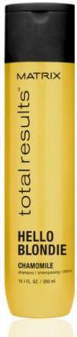 Шампунь для сияния светлых волос, Matrix Hello Blondie,300 мл.