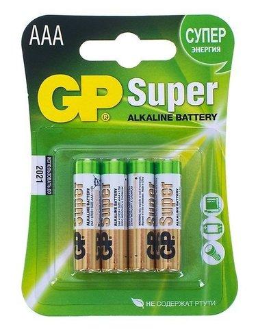 "Батарейка ""GP"" Super ААА 4 шт"