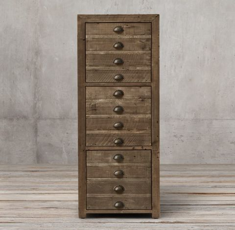 Printmaker's 3-Drawer File Cabinet