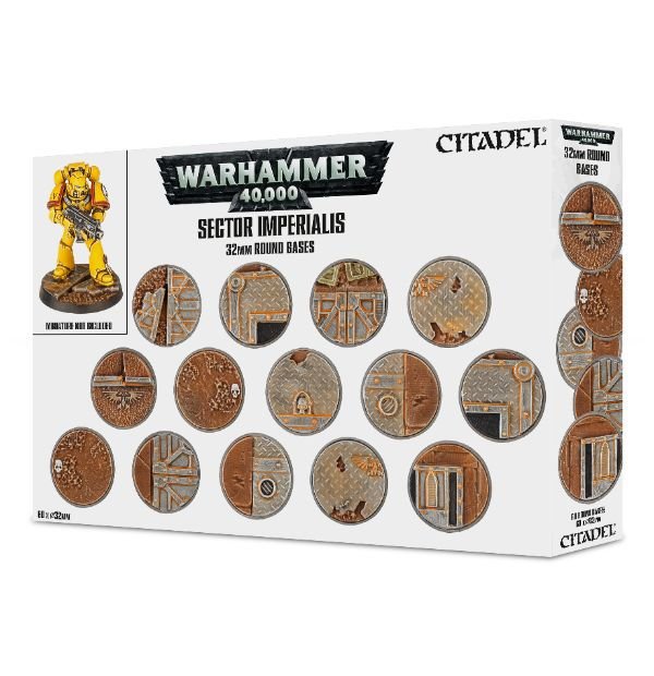 Sector Imperialis 32mm Round Bases