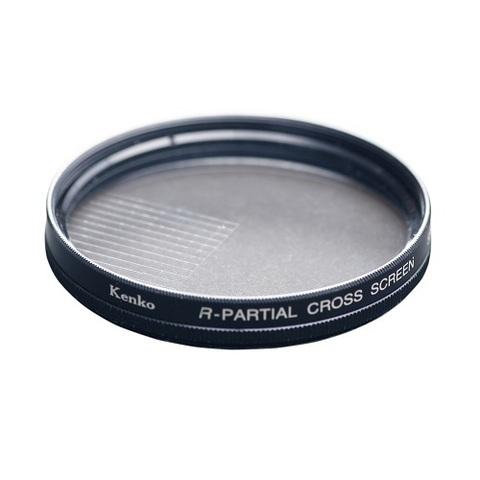 Эффектный фильтр Kenko R-Partial Cross Screen на 77mm (4 луча)