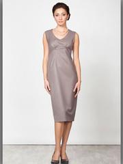 P2071-158 платье женское, бежевое