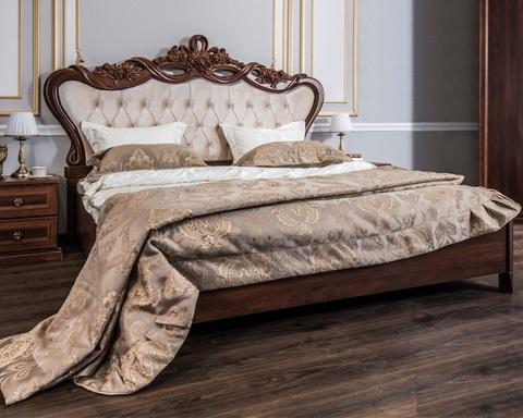 Кровать БЕАТРИС орех