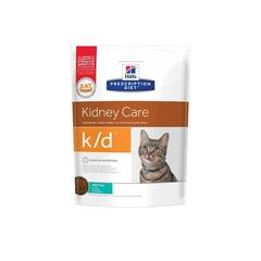 Hill's Prescription Diet k/d Kidney Care  сухой диетический корм для кошек при профилактике заболеваний почек, с тунцом