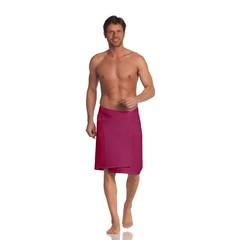 Полотенце для сауны 80x220 Vossen Rom Pique-U розовое