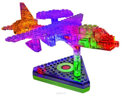 Конструктор «Грузовой Самолёт» 12 в 1 от Laser Pegs (G1670B)