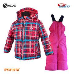 Комплект для девочки зима Salve SWG 4852 Blue Atoll