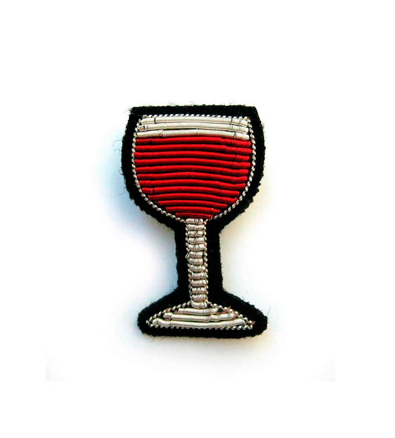 Брошь Glass of wine от Macon&Lesquoy