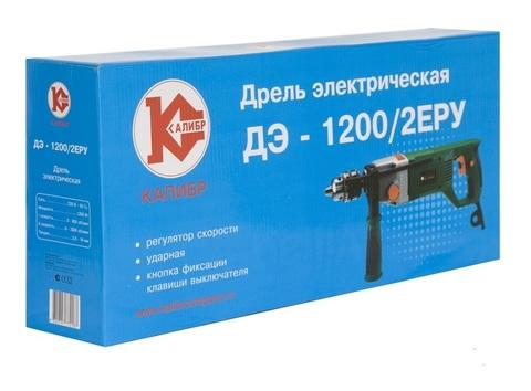 Дрель ударная Калибр ДЭ-1200/2-ЕРУ