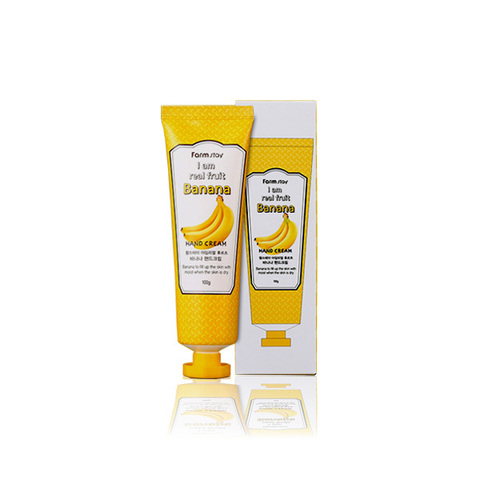 FarmStay Крем для рук с экстрактом банана I am Real Fruit Banana Hand Cream 100мл
