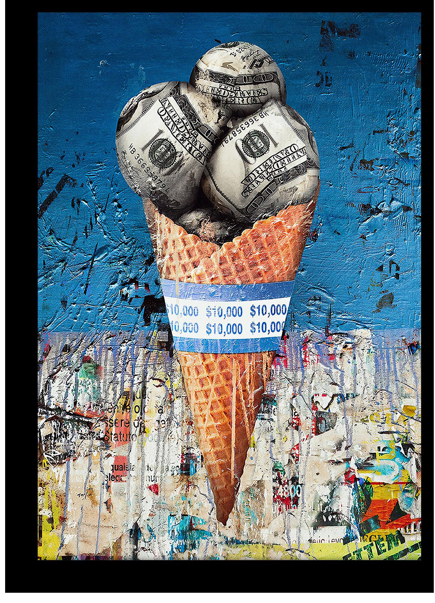 """Постеры Постер """"Долларовое мороженое"""" долларовое_мороженое.png"""
