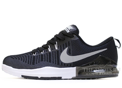 Кроссовки Мужские Nike Zoom Train Action Black White