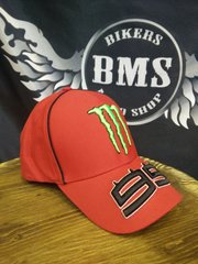 Бейсболка Original Moto GP - Lorenzo 99, красный