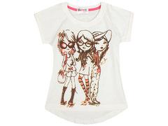 702-9 футболка детская, молочная