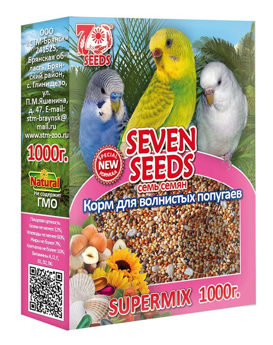 Кормление и лакомства Корм для волнистых попугаев Seven Seeds Supermix 39.jpg