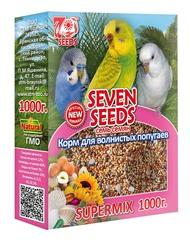 Корм для волнистых попугаев Seven Seeds Supermix