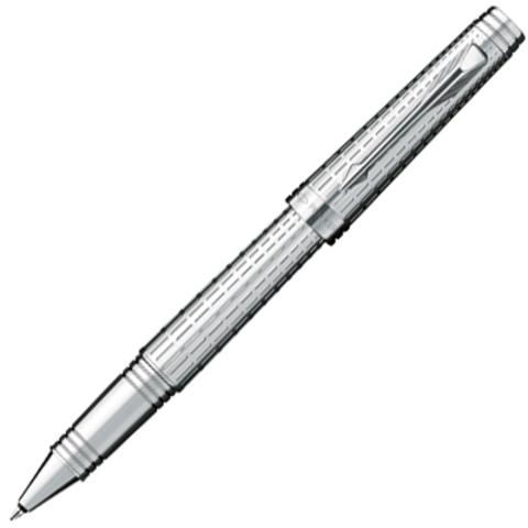 Купить Ручка-роллер Parker Premier DeLuxe T562, цвет: Chiselling ST, S0887990 по доступной цене