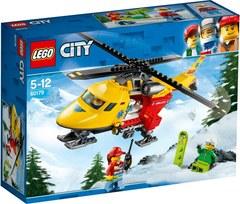 City Great Vehicles Вертолёт скорой помощи 60179