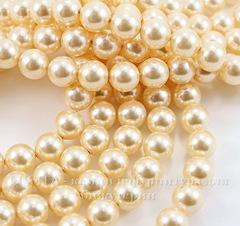 5810 Хрустальный жемчуг Сваровски Crystal Light Gold круглый 12 мм