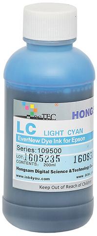 Чернила водные DCTec 7900D light cyan dye  200мл. Серия 109500