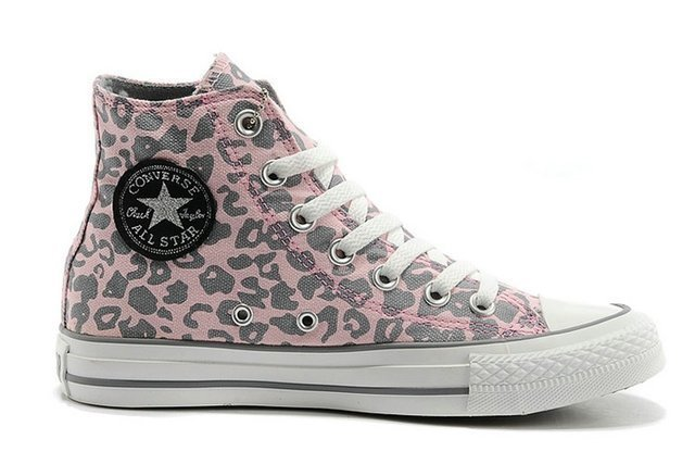 CONVERSE CHUCK TAYLOR ALL STAR HIGH LEOPARD PINK