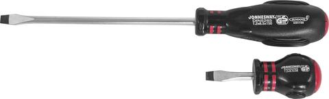 D03S6100 Отвертка стержневая шлицевая HERCULES, SL6.5х100 мм